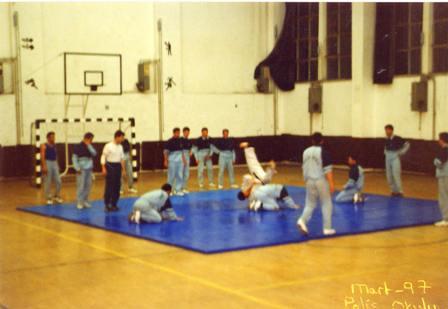 1997 Polis Okulunda Judo ve Aikido çalışmaları Başlıyor