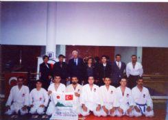 Japon Vakfı Başkanı Prof. Cafer Tayyar sadıkların Dojomuzu ziyareti