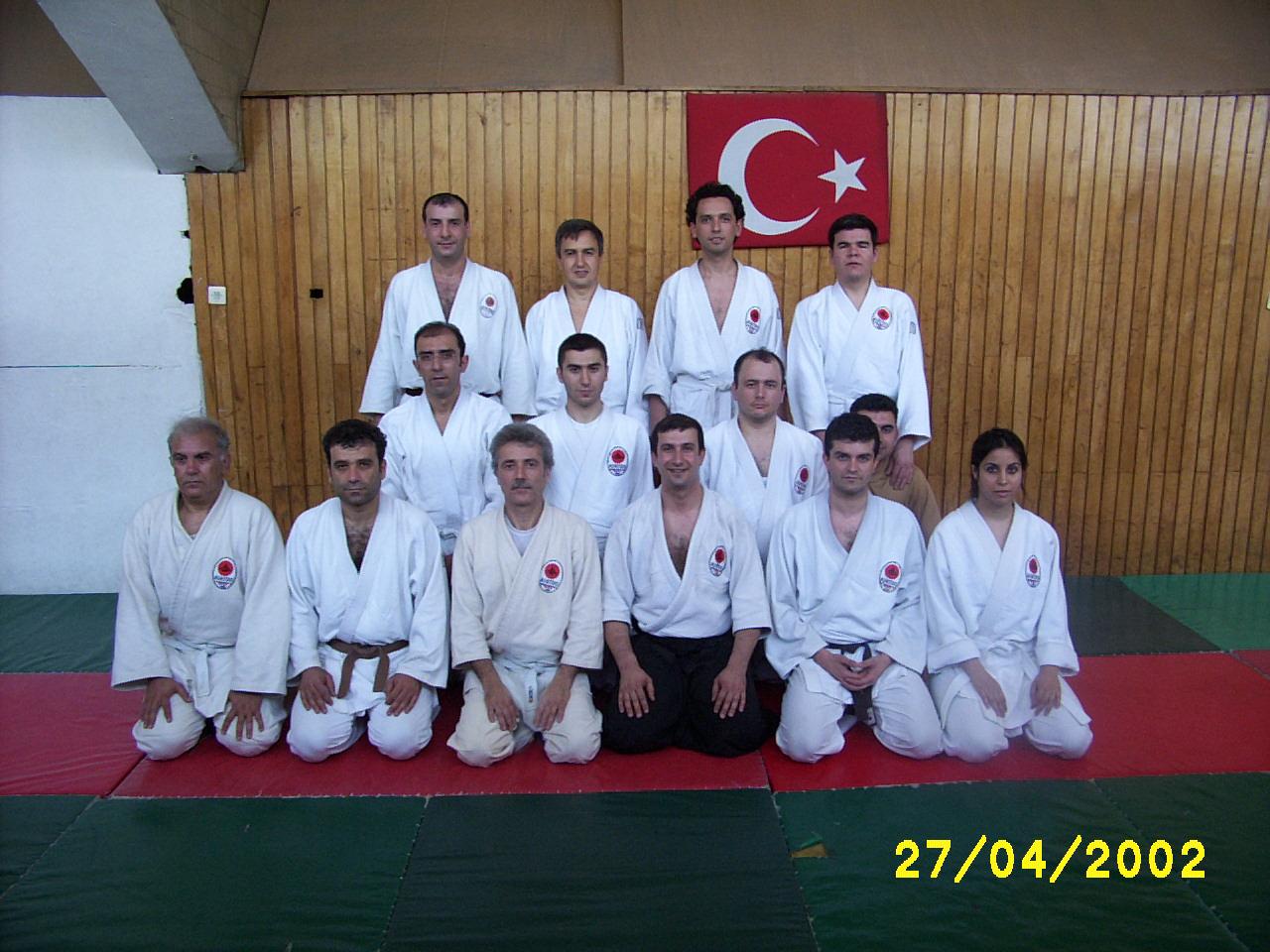 2002 Atatürk Spor Sarayında Çalışmalrımız devam ediyor