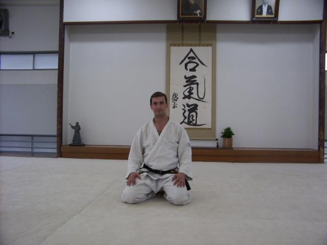 Aikido'nun merkez dojosundayız