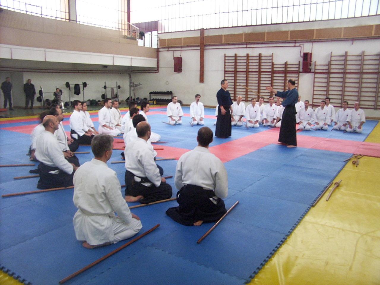 2003 Jojutsu semineri Özet