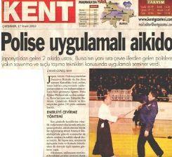 Bursa Polisi Jodo Öğreniyor.