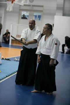 Suezawa Sensei ile Kılıç ve Jo Çalışması yaptık