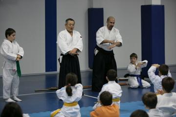 Emine Örnek Kolejinde Aikido Yaptık...