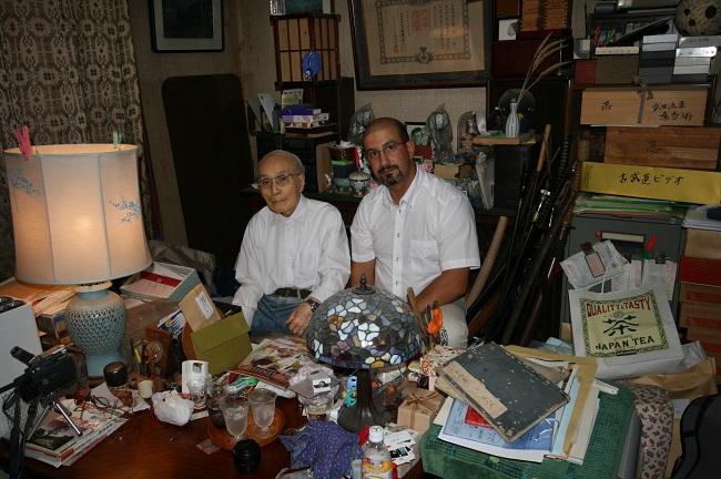 Saito Satoshi ( Japon Kobudo Federasyon başkanı) nı evinde ziyaret ettik