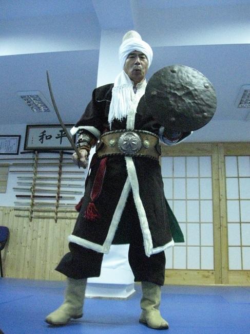 Yamada Sensei Türk Kılıç tekniklerini öğrendi