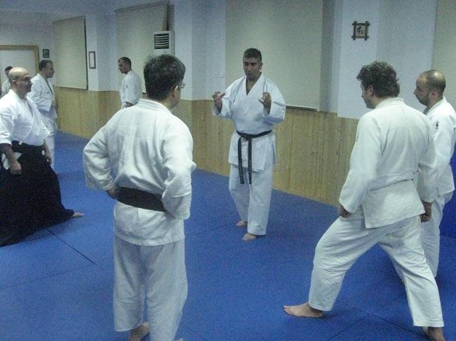 Ünlü Karate ustası Murat Korkmaz Dojomuzu ziyaret etti....
