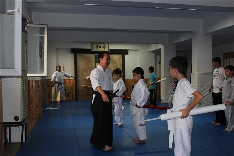 Iaido Semineri - Takeuchi Sensei