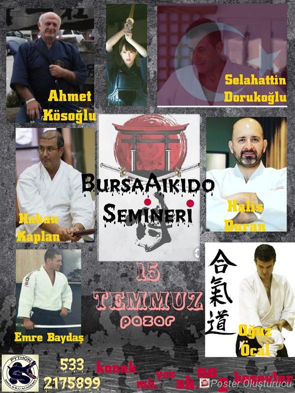 Bursa'da Aikido Semineri