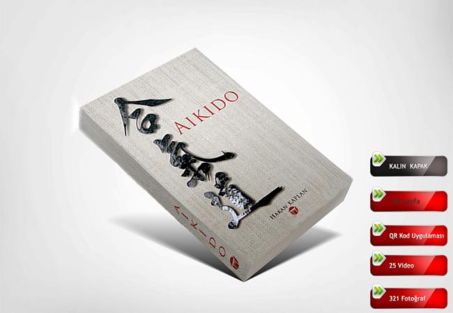 Türkiye'de QR Kod Video Uygulamalı ilk Aikido kitabı